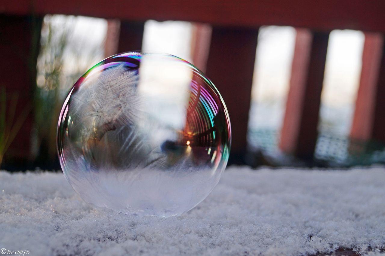 Von Eis und Seifenblasen | Seifenblasen, gefrorene Seifenblasen und ...