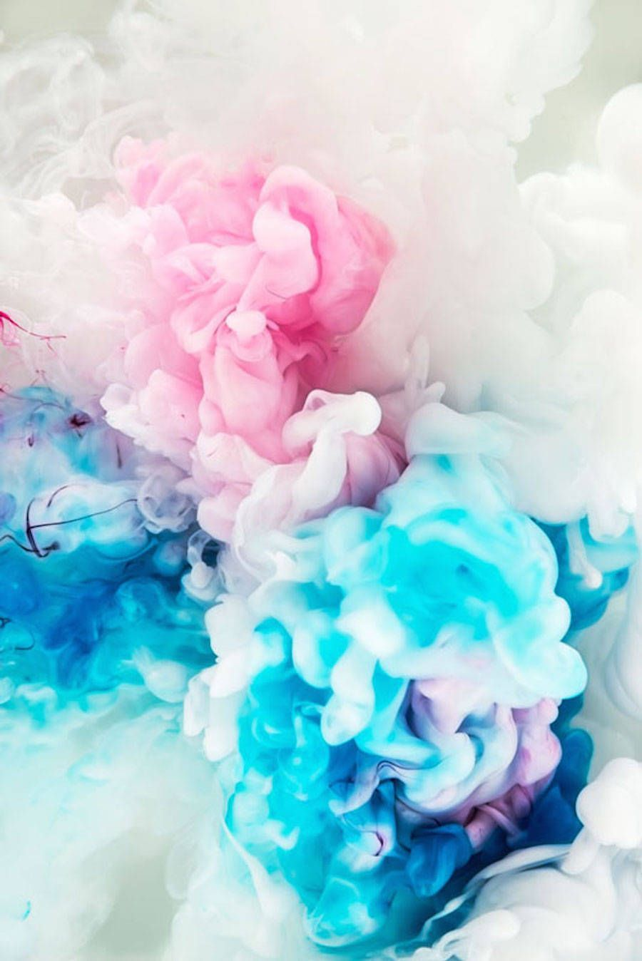 Aesthetic Colored Abstract Ink Explosions Pretty