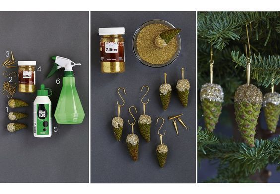 Blomsterdesigneren guider til det flotteste hjemmelavede julepynt