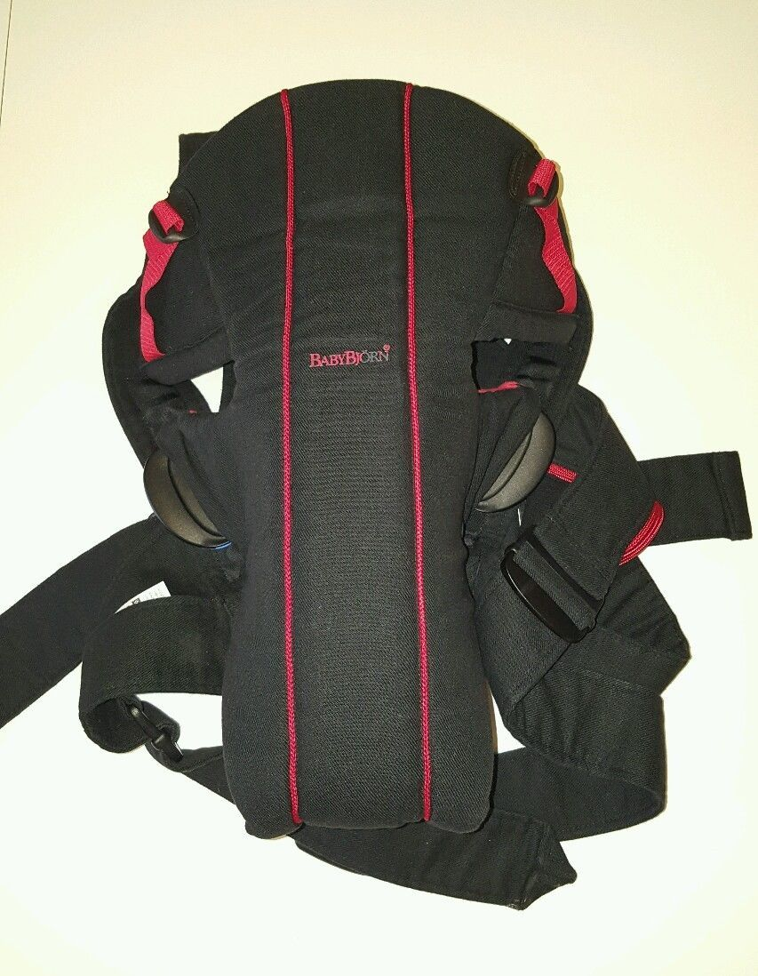 32a192d9324 Baby Bjorn Active Baby Carrier with Lumbar Back Support Black and ...