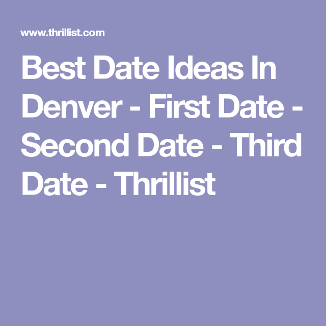First date ideas colorado springs