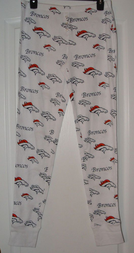 90fc17f4763525 New Denver  Broncos Ladies Thermal Pants  NFL Team Concept Sports Size  Medium from  29.99