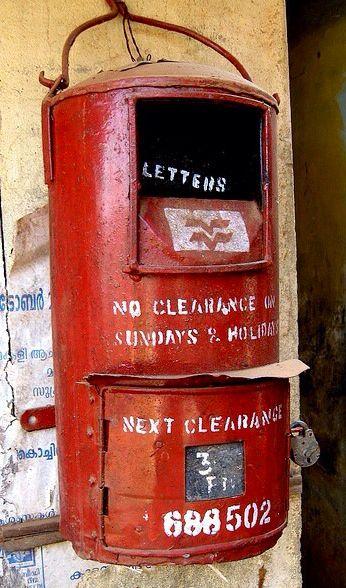 Post Box メールボックス インテリア ナチュラル 邮箱