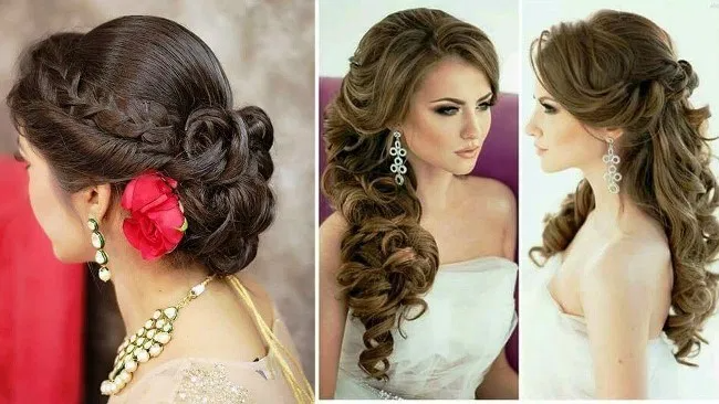 Pin On Simple Hairstyle For Long Frock Images For Eid