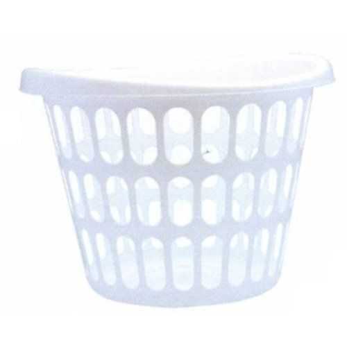 2 Bu Laundry Basket Case Pack 12 By Lincoln 107 01 Large Round 2 Bushel Laundry Baskets Made In The Usa Case Laundry Basket Basket Plastic Laundry Basket
