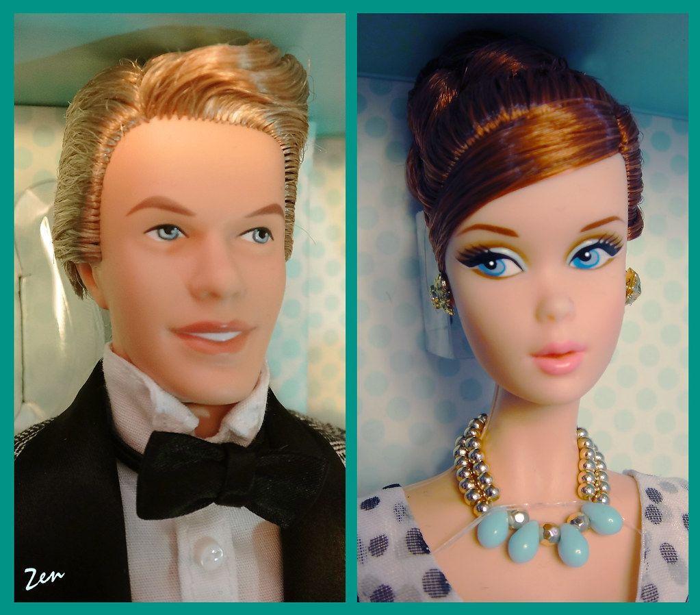 Convention Exclusive 1961 Spring Break Barbie and Ken Giftse