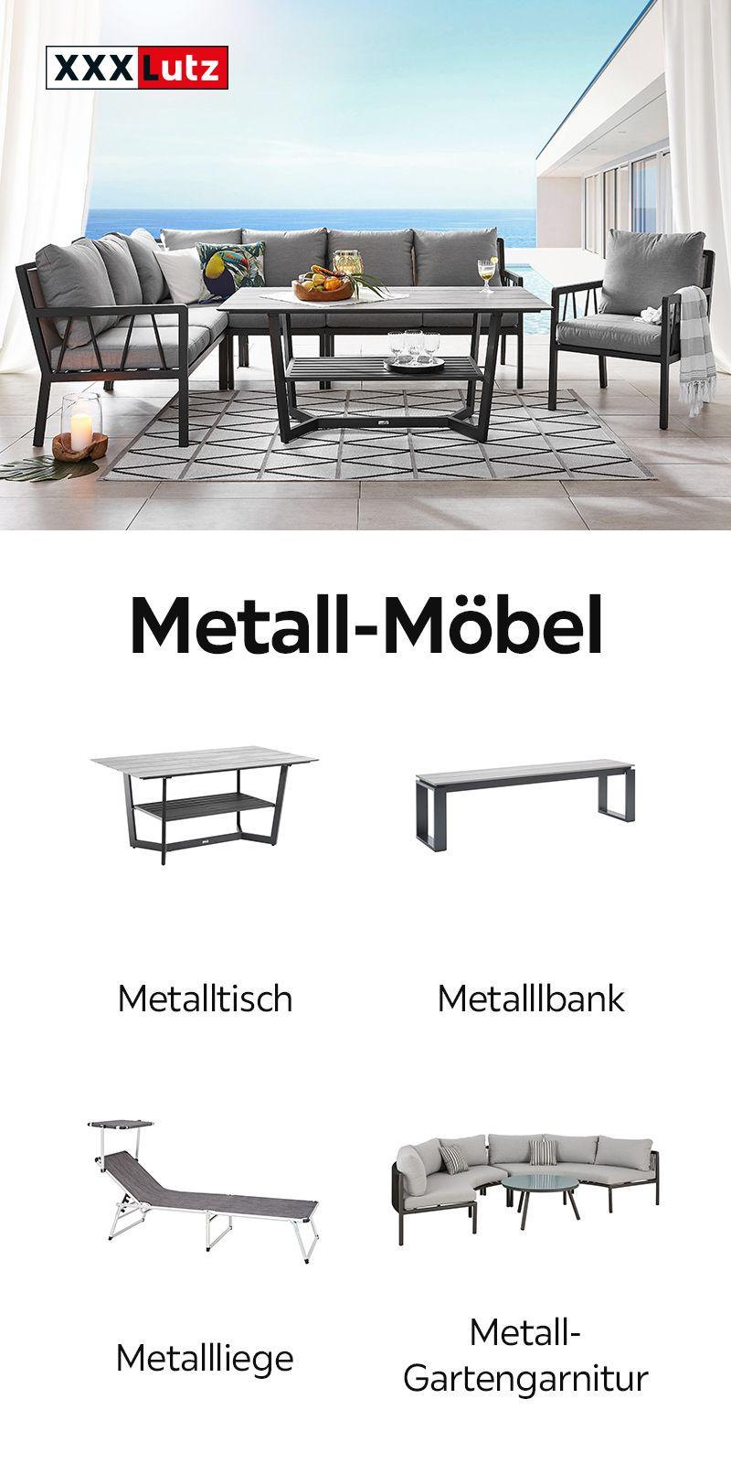 Bank Monceau Gartenbank Aus Metall Gartenmobel Gartenbank Metall Gartenbank Gartenmobel