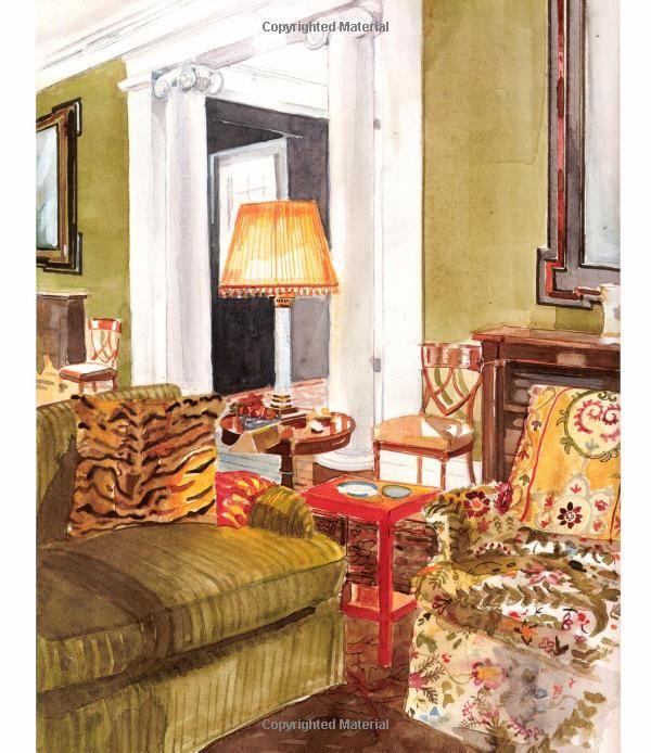 "Mita Corsini Bland.  ""Sister Parish Design"" Miles Redd room."