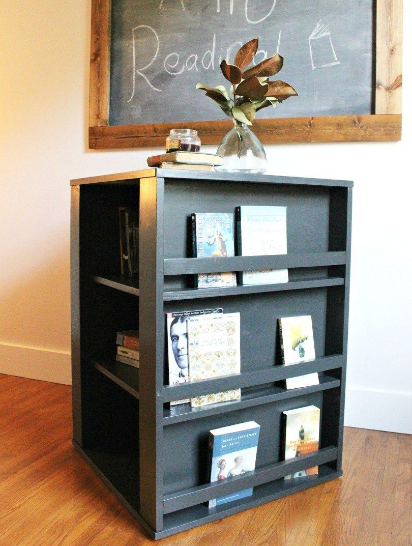 Diy Four Sided Kid S Bookshelf Bookshelves Diy Bookshelves Kids Kids Rooms Diy