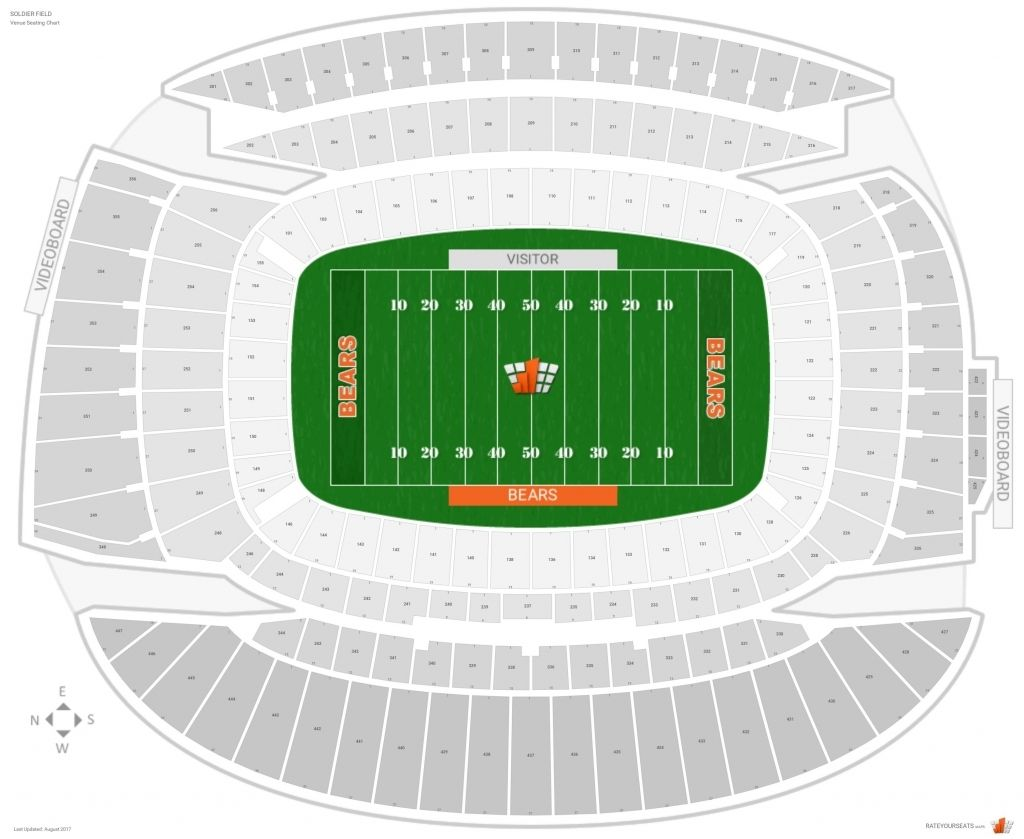 The Elegant In Addition To Interesting Soldier Field Seating Chart Soldier Field Seating Charts Seating