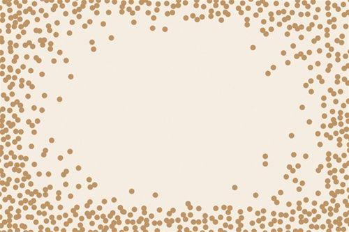 Gold Confetti Placemat Paper Confetti Placemats Diy Placemats