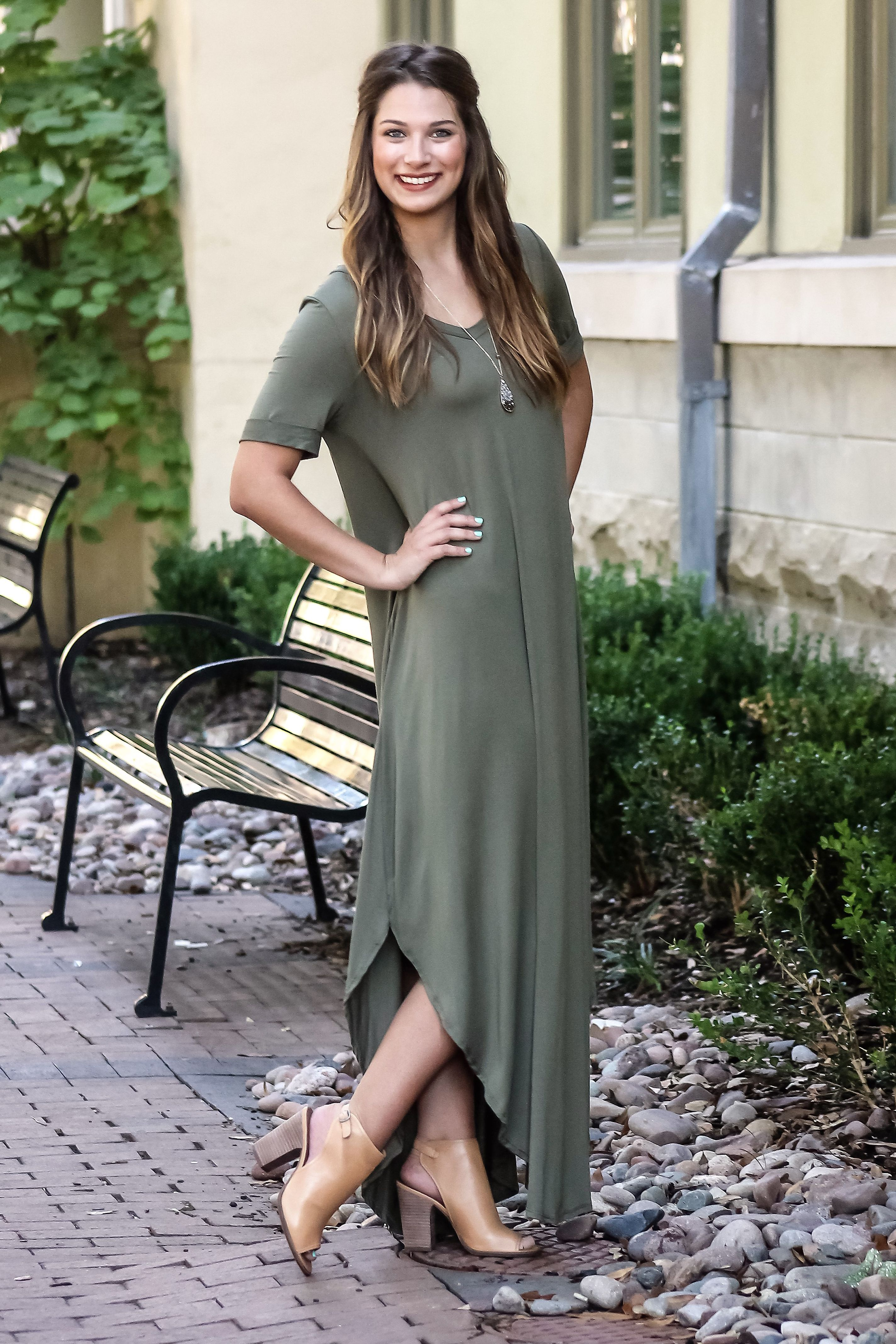 How to keep warm in a maxi dress