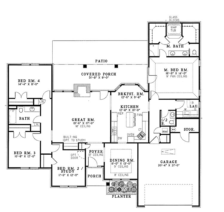 Ianallenworks Com Wp Content Uploads From The Modern Family Dunphy House Floor Planthehome Pla Ranch Home Floor Plans Ranch Style House Plans Floor Plans Ranch