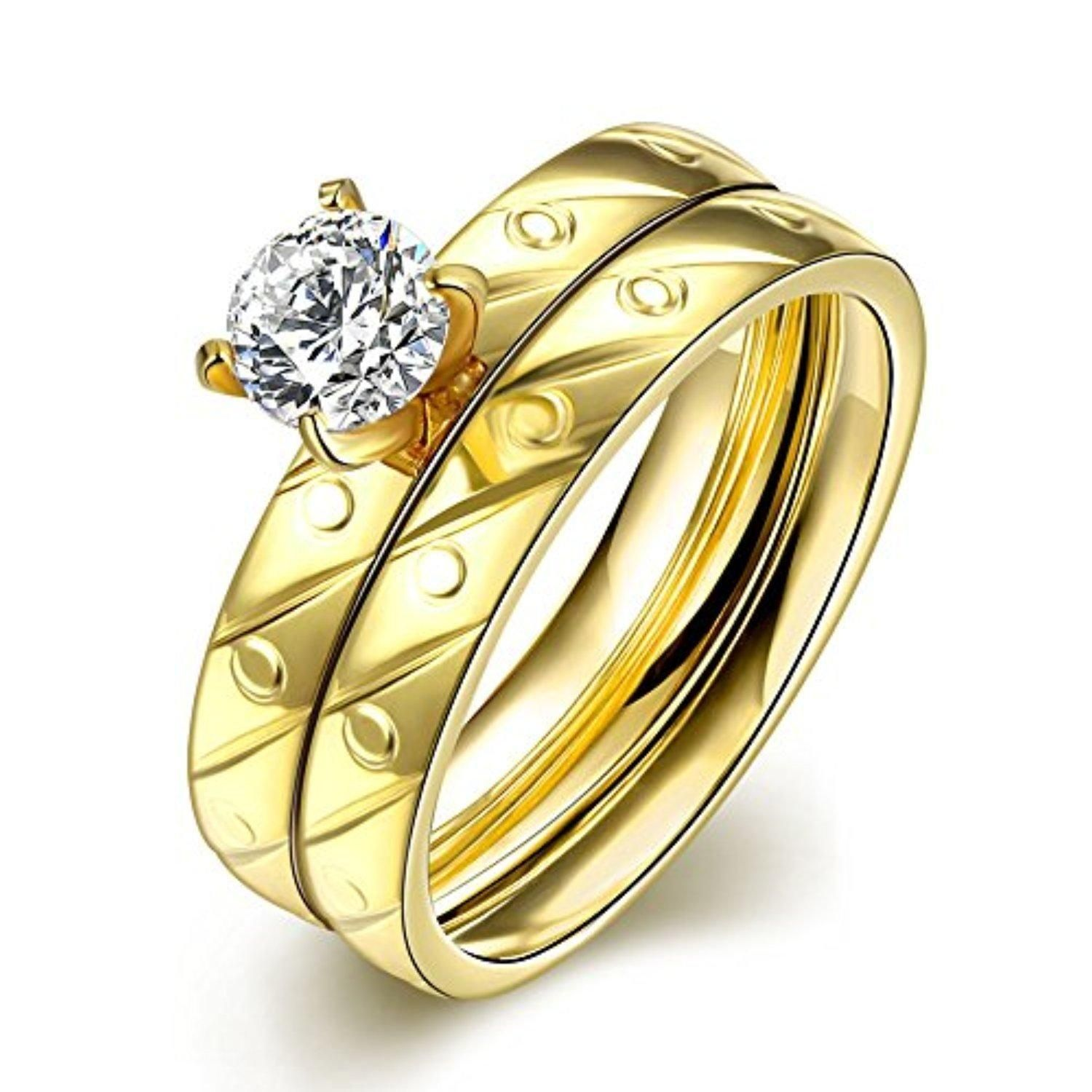 titanium rings models steel drawing wholesale korean gold