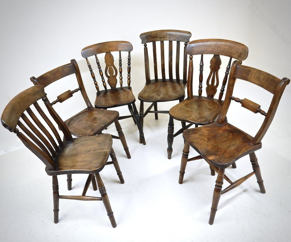Harlequin Set Of 12 Kitchen Chairs - Antiques Atlas  Chair