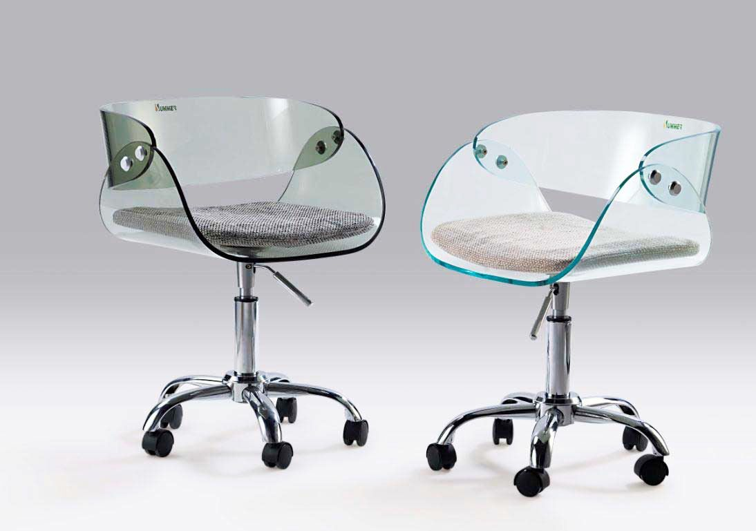 Unusual Chairs Unique Computer Chairs From Glass Photo For