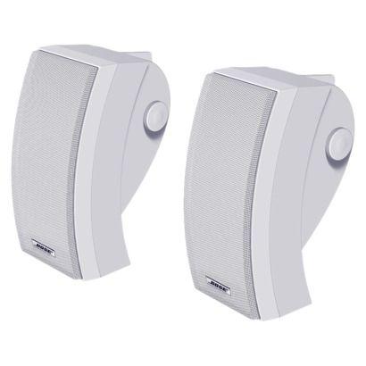 Bose 251 Environmental Outdoor Speaker System White 24644 Outdoor Speaker System Outdoor Speakers Outdoor Technology