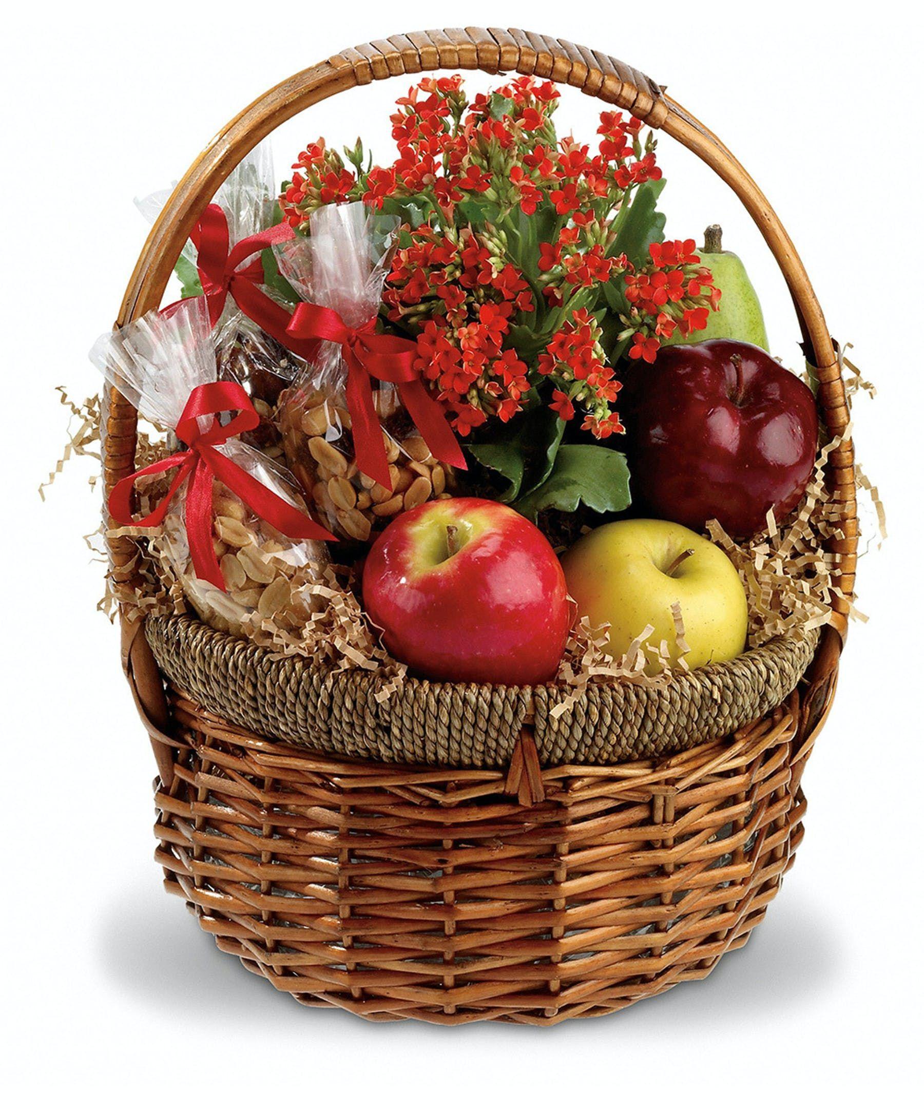 Health Nut Basket In 2020 Nut Gift Basket Fruit Basket Gift Basket