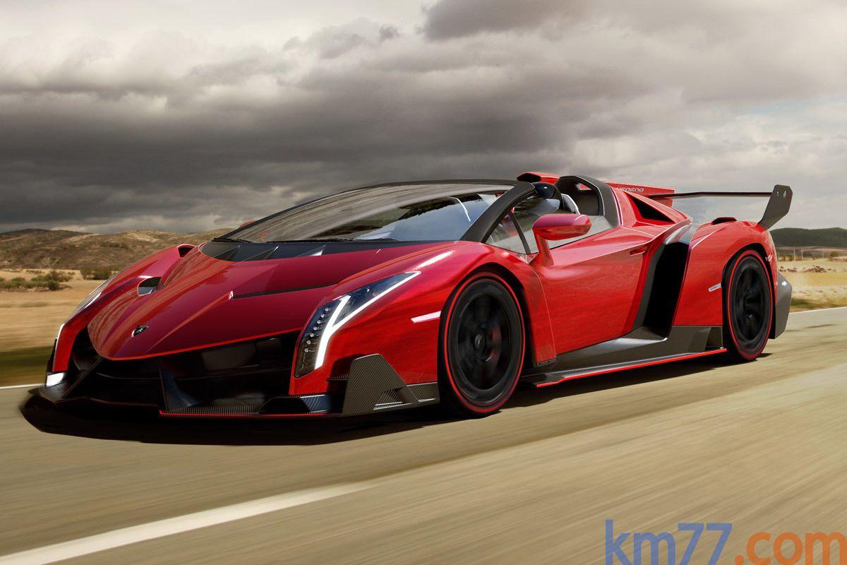 Charmant $4.6 Million Lamborghini Veneno Roadster