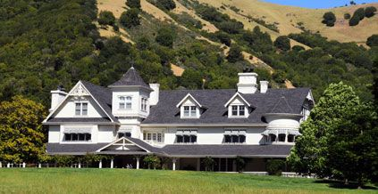 Skywalker Ranch - George Lucas' home and headquarters.