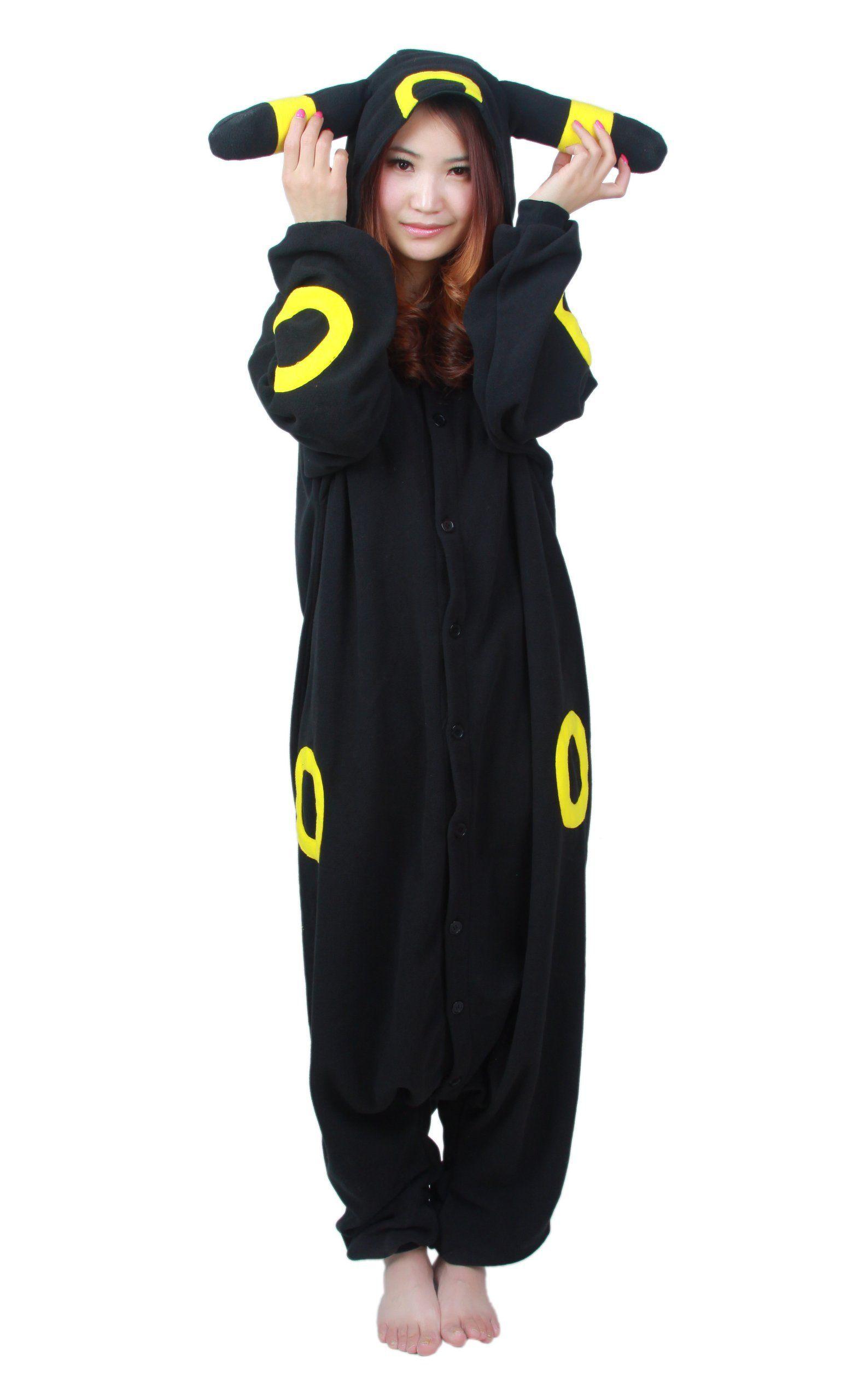 Amazon.com: SUYA Women's Pokemon Umbreon Kigurumi Halloween ...