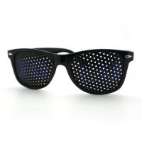 Black YOLO Wayfarer Sunglasses, Blue Letters