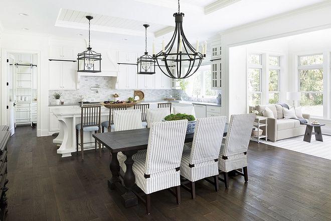Kitchen Layout Kitchenlayout White Farmhouse Kitchen With White