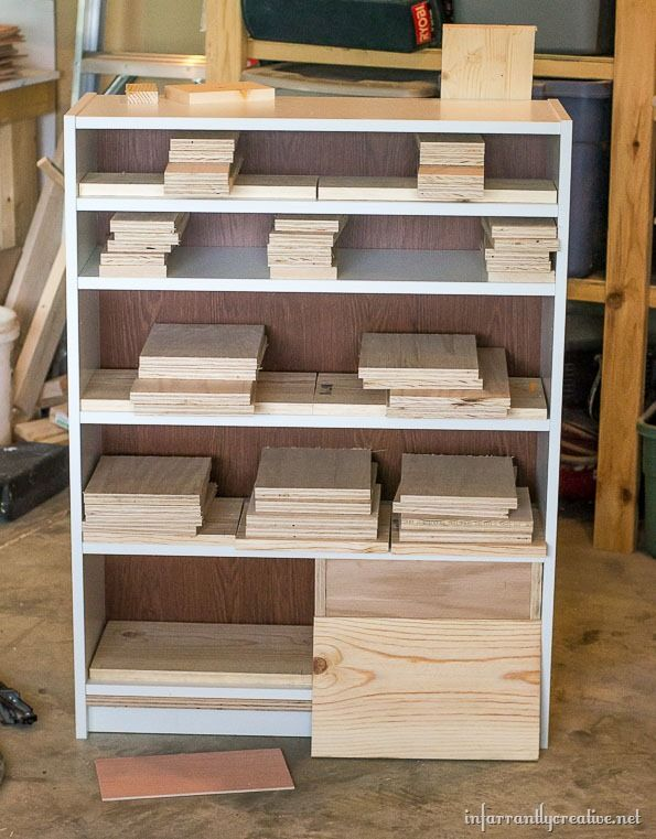 Ikea Billy Bookcase To Drawer Hack Billy Bookcase