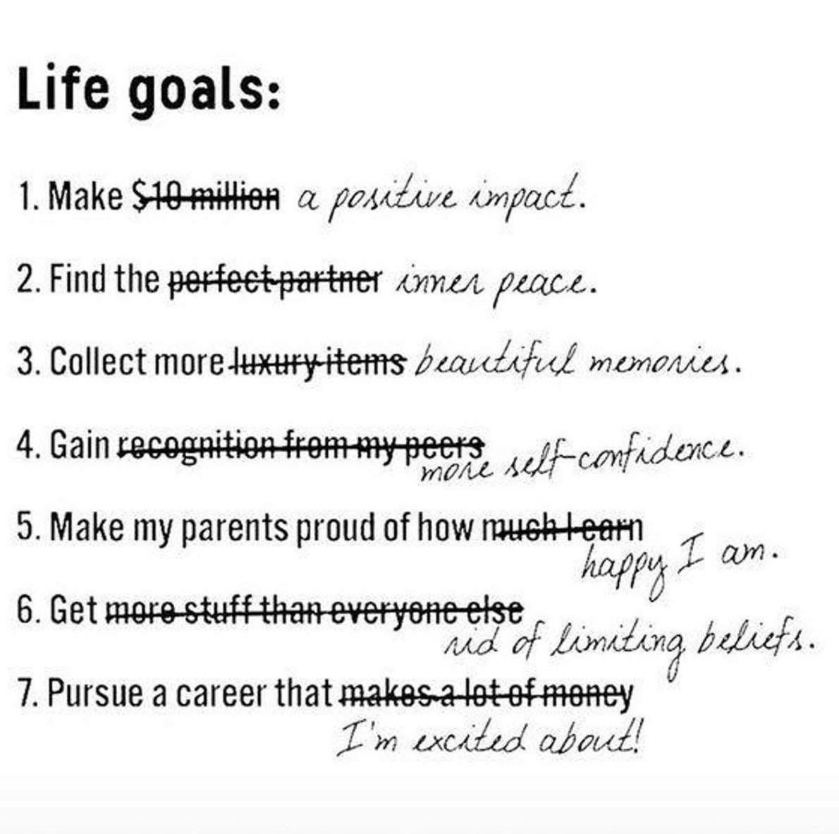 Pin by Vonna Gaines on qoutes Positivity, Life goals