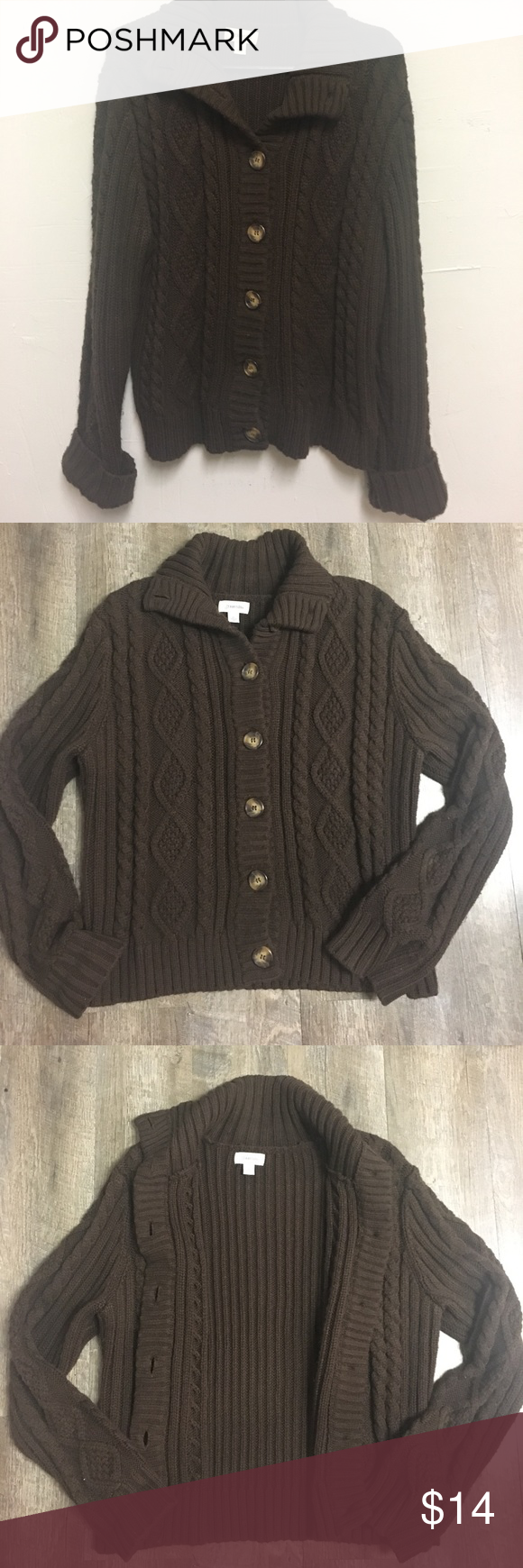 St John's Bay brown sweater | Saints, Brown and Customer support