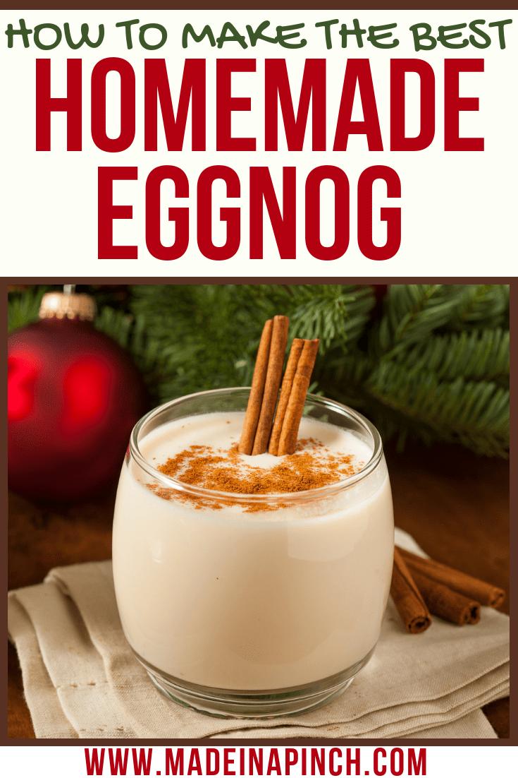 Homemade Eggnog Without Alcohol | Recipe | Homemade eggnog ...