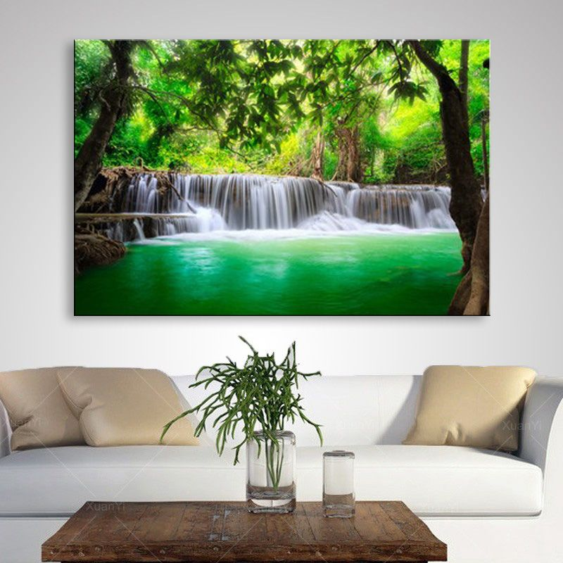 oil Painting Fantasy forest Hd print canvas painting Photo print