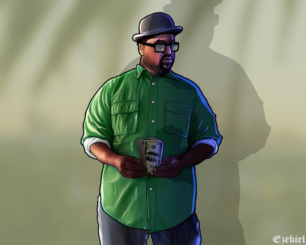 Bigsmoke Artwork By Ezekiel Rn On Deviantart Grand Theft Auto Artwork Grand Theft Auto Games San Andreas