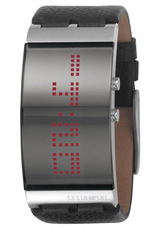 Diesel Dz7092 Scrolling Led Watch Watchismo Is An Authorized
