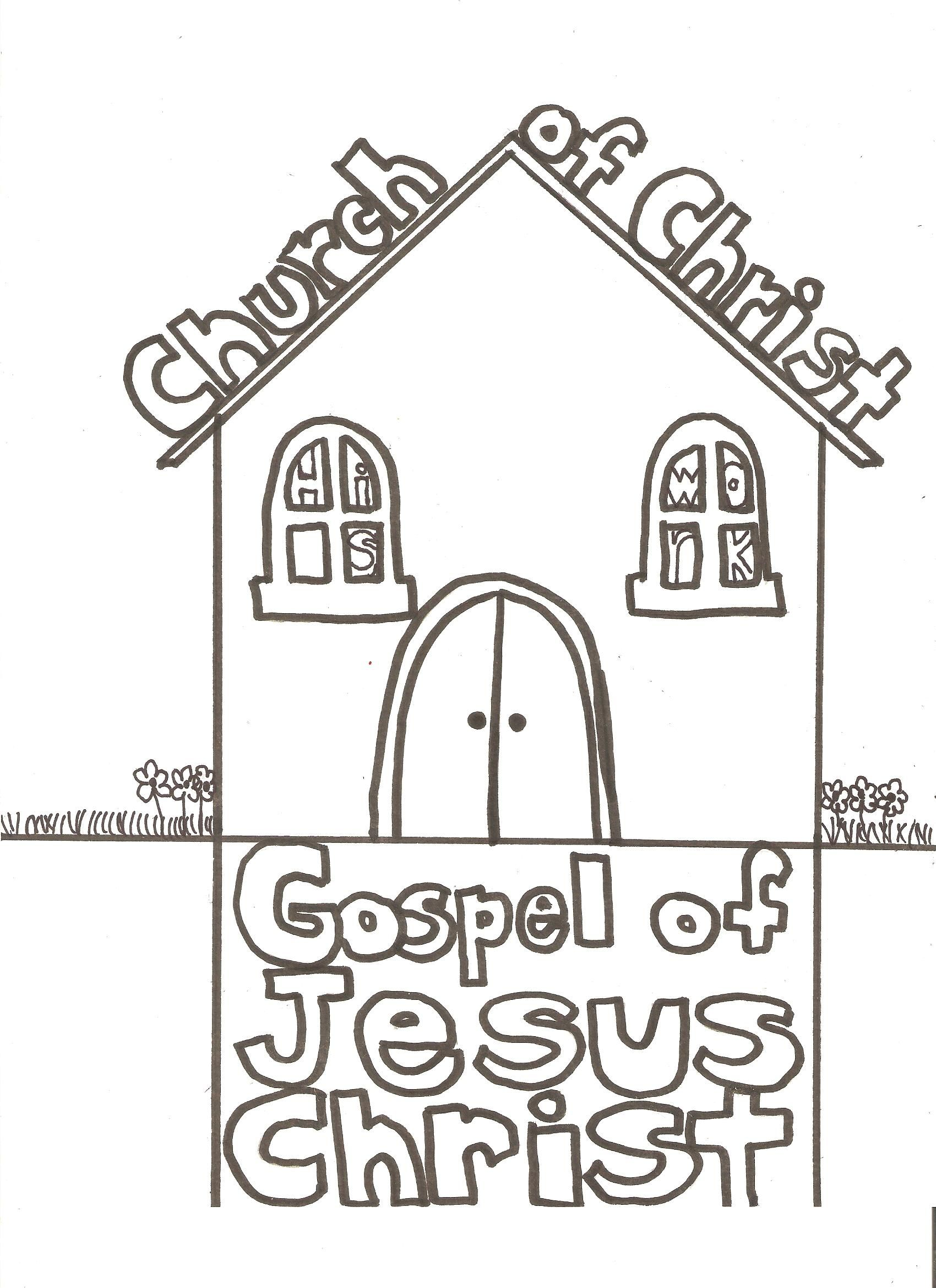 Church Coloring Pages Ginormasource Kids Preschool Church Crafts Sunday School Coloring Pages Church Crafts