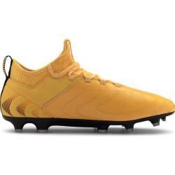Photo of Puma Men's Soccer Shoes One 20.3 Fg / ag, Size 44 In Ultra Yellow-Puma Black-Orange, Size 44 In U