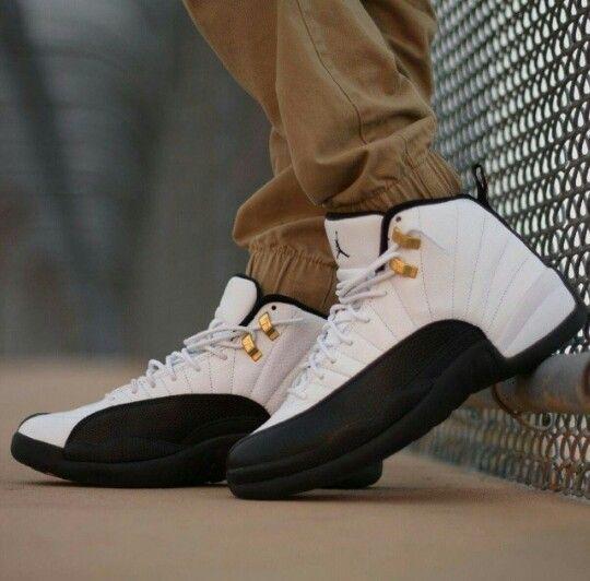 Air Jordan 12 Taxi Shoes Mens Sneakers Casual Shoes