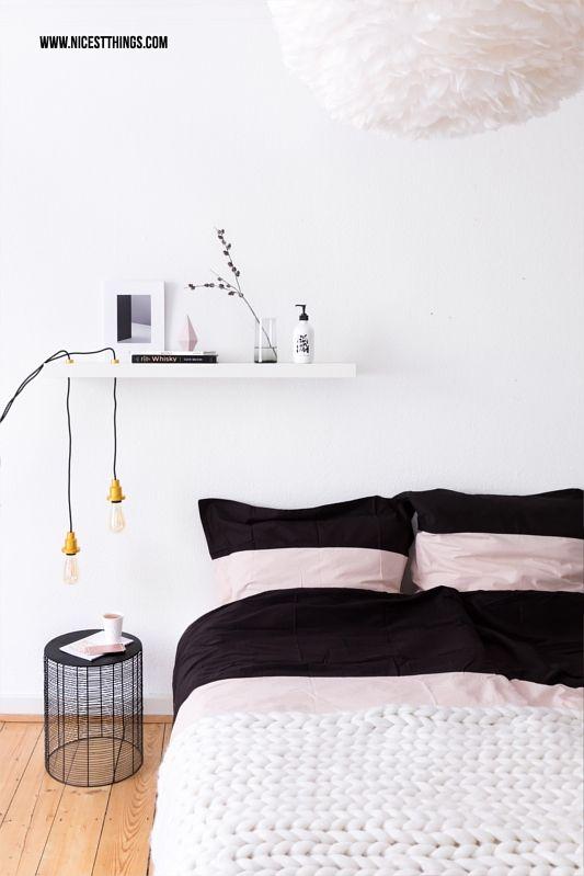 DIY Lampe selber machen: Hängelampe mit Vintage Glühbirne ...