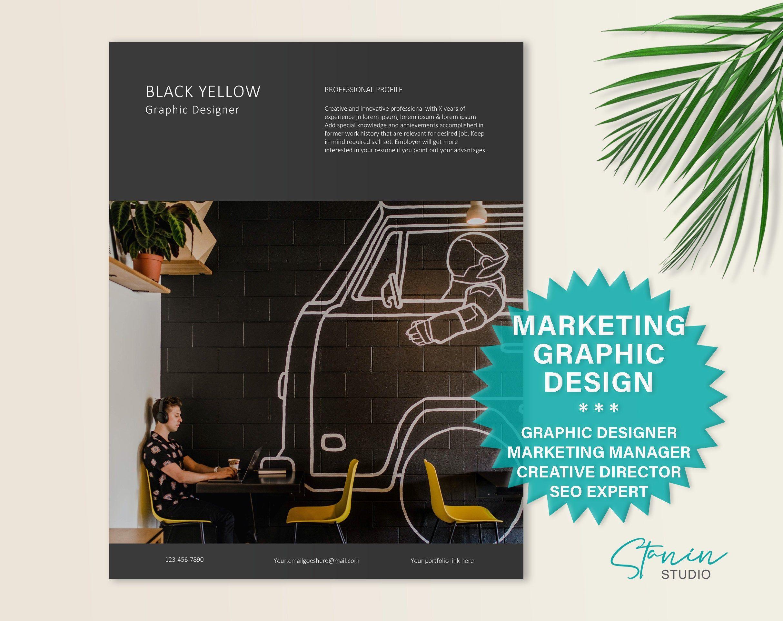 Marketing manager graphic designer digital specialist