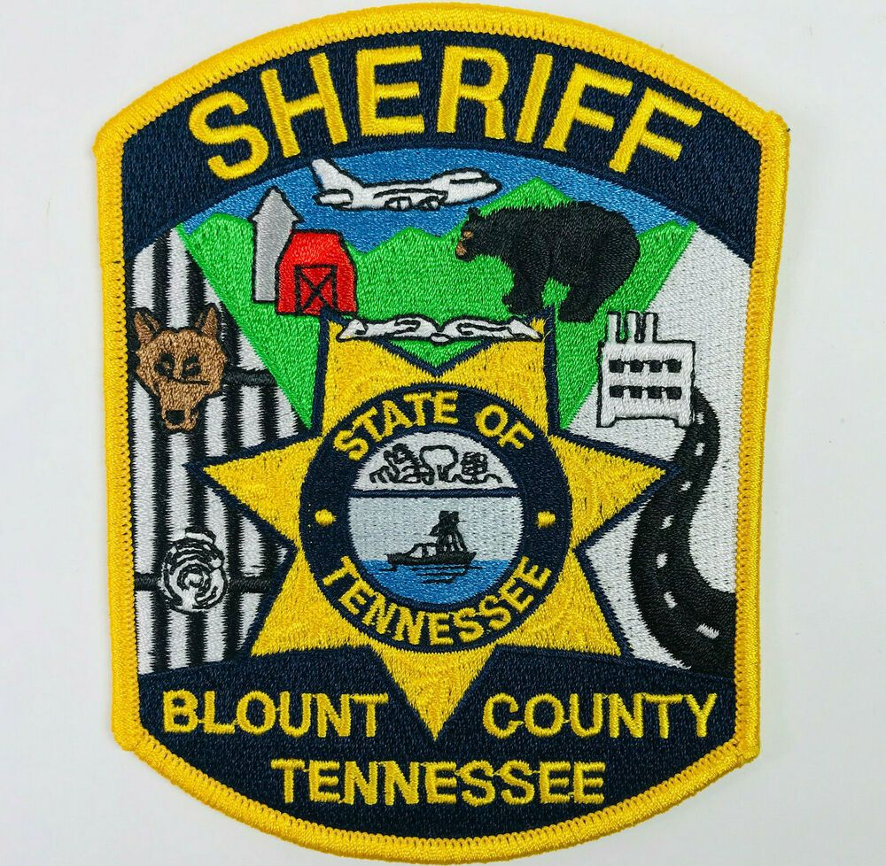 Blount County Sheriff Tennessee Patch Ebay Blount County Police Patches Police Badge