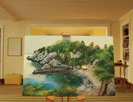 Image result for moonrise kingdom painting