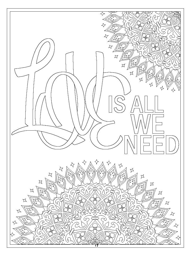 Sample Page Form Be My Valentine Adult Coloring Book 60 Drawings And Patterns To Color Coloring Book Ser Coloring Books Adult Coloring Books Adult Coloring