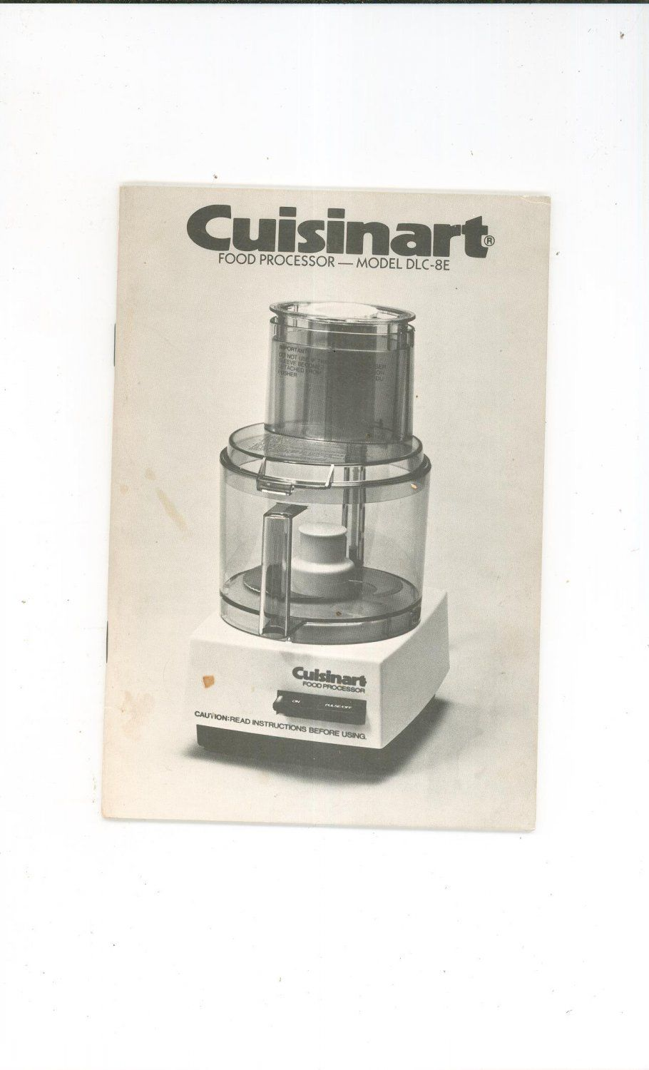 Cuisinart model dlc 8e instruction manual and recipes cookbook not cuisinart model dlc 8e instruction manual and recipes cookbook not pdf forumfinder Images