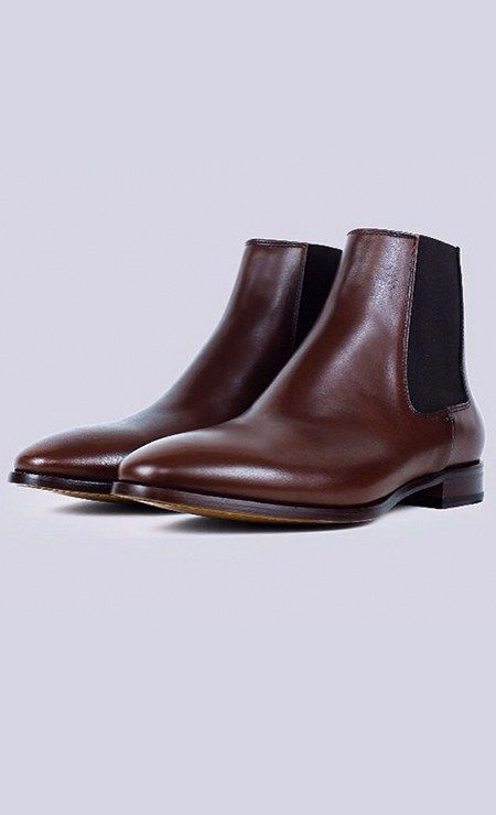 Stylish with a stubborn streak (and maybe just a bit reckless), the Chase Chelsea boot is pure unadulterated rock n' roll. Even when he's dressed up he's thinking about getting down. This Blake stitched shoe is complete with a full-grain calfskin upper and leather outsole. Free shipping & returns!