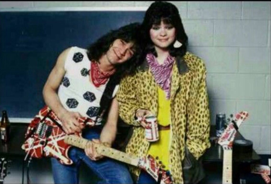Pin By Angela F On Van Halen Eddie Van Halen Van Halen Valerie Bertinelli