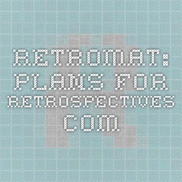 Retromat: plans-for-retrospectives.com