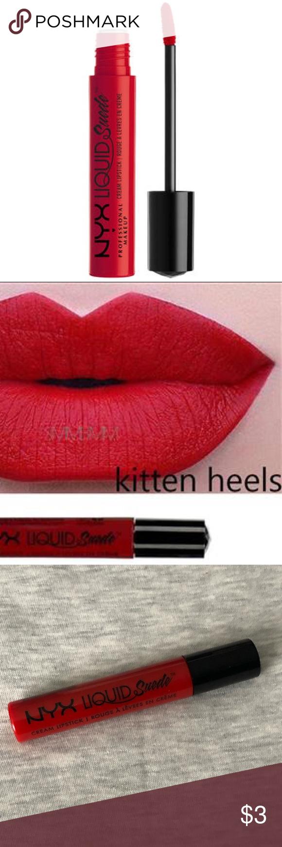 Nyx Liquid Suede Cream Lipstick In Kitten Heels