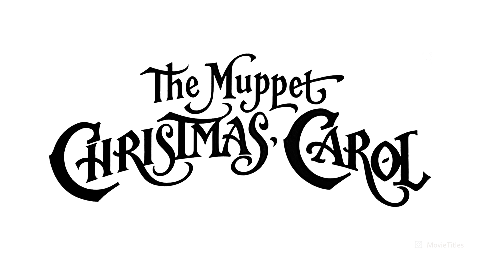 The Muppet Christmas Carol Trailer 1992.The Muppet Christmas Carol 1992 Movie Title Movie And