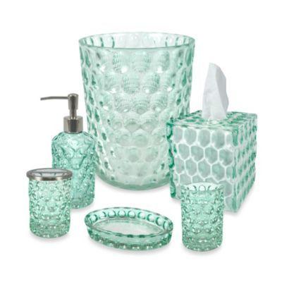Crystal Ball Glass Bathroom Accessories In Aruba