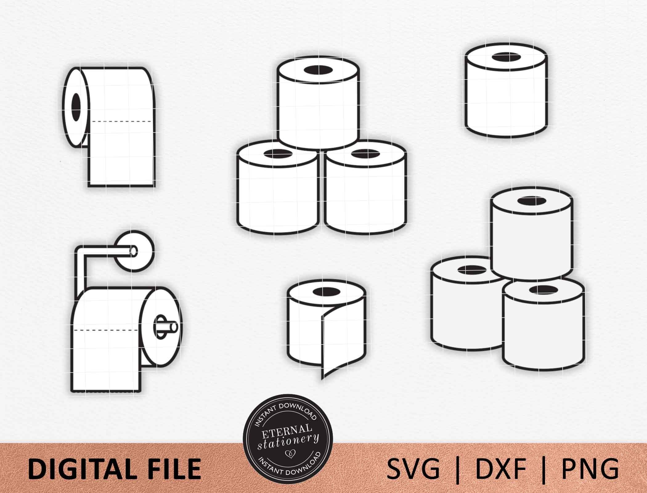 Toilet Paper svg, I Survived The Toilet Paper Crisis of